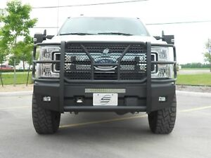 New Ranch Style Smooth Front Bumper 2017 2018 2019 Ford F250 F350 Super Duty