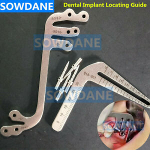 Dental Implant Locating Guide Positioning Guide Implants Positioning Angle Ruler