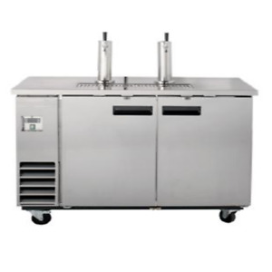 Falcon Food Service Direct Draw Stainless Steel Beer Dispenser 3 Keg Capacity
