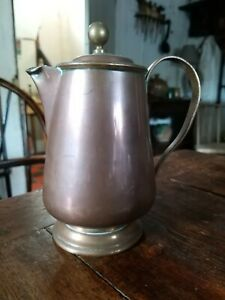 A Super 19th Century Copper Coffee Pot