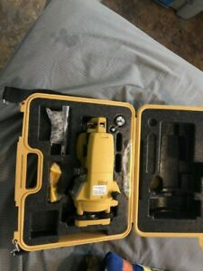 Very Clean Topcon Dt 209 Optical Digital Theodolite With Original Case Dt 200