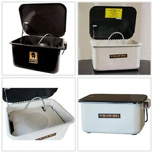Automotive Parts Washer Electric Pump Removable Tray Portable 3 5 gal Capacity