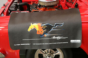 Ford Mustang Flaming Pony Fender Gripper Cushion Protective Fender Cover Fg2107