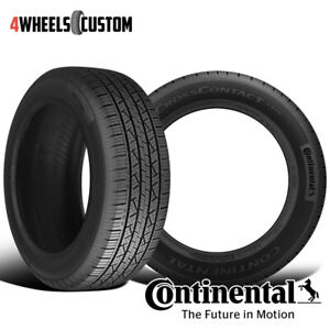 2 X New Continental Cross Contact Lx25 245 65r17 107t Fr Owl Tires