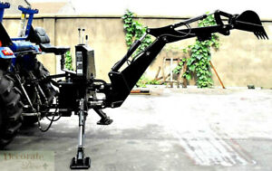 Backhoe Tractor Attachment Bh6600 Bucket Pto 3 Pt Link Excavator Hydraulic New