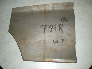 60 1960 Plymouth Front Fender Lower Front Section Right Body Repair Patch Panel