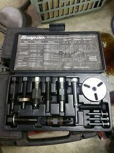 Snap on Act1300a Deluxe A c Clutch Hub Puller Installer Kit