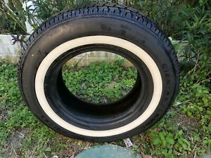 Tire 215 75r 15 Cientra Classic Steel Belted Canada Whitewall Rat Rod Hot Rod Nr