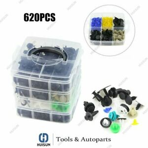 620pcs Set 24 Kinds Plastic Auto Fasteners Car Bumper Fender Repair Parts Clips