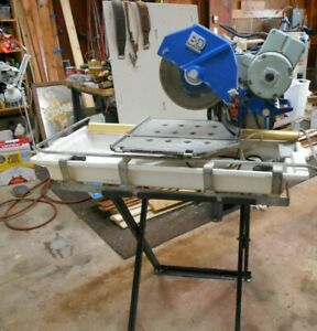 Used Mk Barranca 10 Tile Brick Saw Model Bd 2418 With Stand