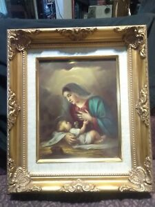 Victorian Gold Wood Picture Frame 8x10