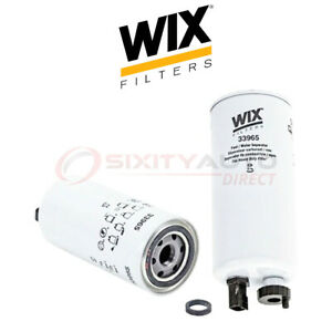 Wix Fuel Water Separator Filter For 2012 2016 Mack Gu4 8 9l L6 Gas Tank Qn