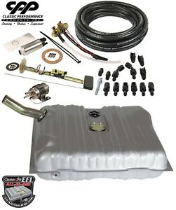 1941 48 Chevy Fleetline Ls Efi Fuel Injection Gas Tank Fi Conversion Kit 30 Ohm