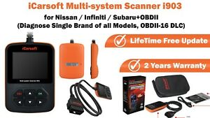 Icarsoft Multi system Diagnostic Scanner Tool I903 For Nissan Infiniti subaru