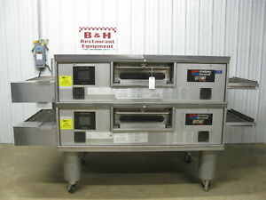 Middleby Marshall Ps770g Wow Natural Gas Double Stack Conveyor Belt Pizza Oven