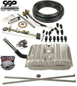 1953 54 Chevy Bel Air Ls Efi Fuel Injection Gas Tank Fi Conversion Kit 90 Ohm