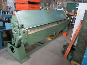 Chicago Dreis Krump Hsb 1010 Hydraulic Power Apron Brake Press Brake