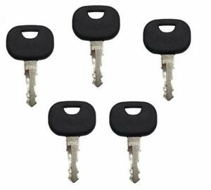 5 14603 Equipment Ignition Key Fits Various Ford New Holland Jcb Terex Volvo