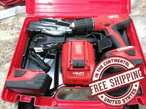 Hilti Sfh 18 a Cordless Hammer Drill Preowned Good Condition Free Shipping