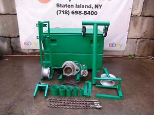 Greenlee 4000 Lbs Cable Tugger Puller Late Model Set Works Fine 2 11 20