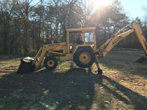 Ford 755a Backhoe
