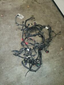 5 7 Liter Hemi Engine Wiring Harness Complete From Ecm Battery Motor And Trans