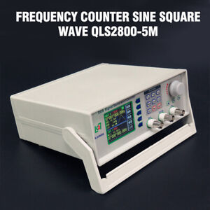 Qls2800 5m Dds Function Signal Generator Frequency Counter Sine Square Wave New