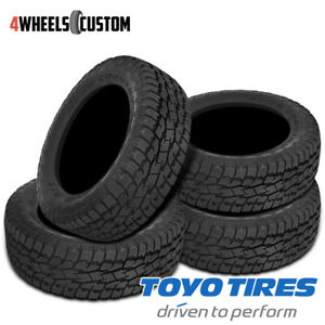 4 X New Toyo Open Country A t Ii 265 70r17 113s All terrain Tire