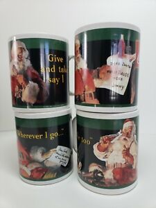 1932  1936  1937  1939 Santa 4 Coca-Cola Mugs Cup Coffee mug