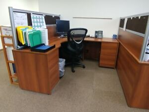Used Office Cubicles Global Adaptabilities 6x6 Cubicles