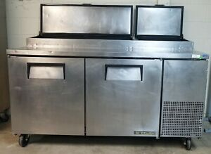 True Tpp 67 67 Two Door Refrigerated Pizza Prep Table