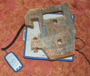 Ford Tractor Front End Suitcase Weight 8000 9000 Tw10 Tw20 60 Lbs 1