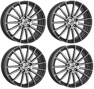 4 Aez Steam Wheels 8 0jx19 5x112 For Bmw 5 6 X2 X3 X4