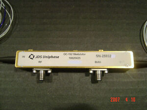 Jdsu 10020425 Oc 192 Electro optical Modulator 10 Gbs Eom Mach zehnder Intensity