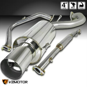 For 95 99 Mitsubishi Eclipse Rs Gs 2 0l Non Turbo Muffler Catback Exhaust 1995