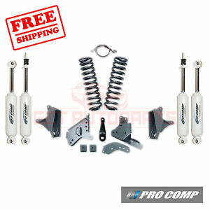 Pro Comp 4 Lift Kit W es Shocks rear Blocks 81 89 Ford F 150 2wd extended Cab