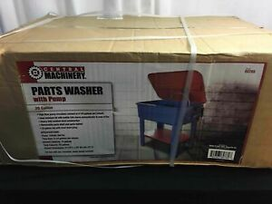 Central Machinery 20 Gallon Parts Washer W Pump New In Package