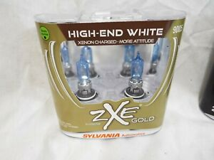 Sylvania Silverstar Zxe Gold 9005szg 2 Headlight foglight Bulbs Pair