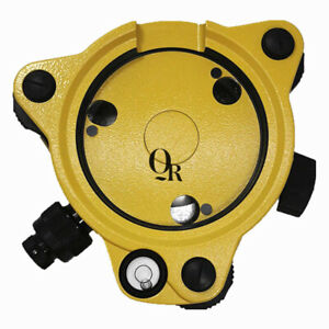 Brandnew Topcon Style Yellow Tribrach With Optical Plummet For Total Stations