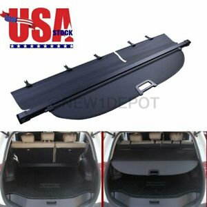 Us Oe Style Black Rear Cargo Security Cover Retractable For Toyota Rav4 13 18