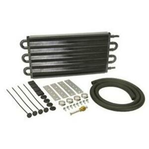 Speedway Motors Heavy Duty Aluminum Transmission Cooler Powder Coated Finish