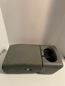 2004 2005 2006 2007 2008 Ford F150 Jump Seat Center Console Armrest Gray