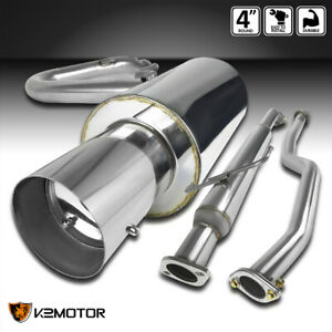 For 2005 2010 Scion Tc Stainless Steel Exhaust Catback System Kit
