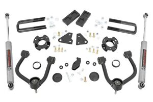 Rough Country 3 5 Lift Kit fits 19 20 Ford Ranger 4wd n3 Shocks control Arms