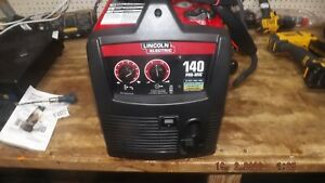 Lincoln Electric 140 Pro mig K2480 1 Mig flux cored Wire Feed Welder Out Of Box