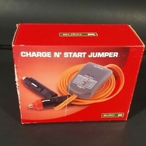 Auto Charge N Start Jumper Cables New