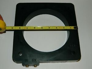 Eaton Solid Core Instrument Transformer 3000 5a Amps 6 3 8 Window 6291sh 3000
