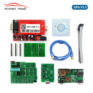 Obd2 Diagnostic Upa usb V1 3 Main Unit Ecu Chip Tunning With 1 3 Eeprom Adapter