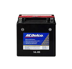 New Acdelco Atx14bs Specialty Agm Powersports Jis 14 Bs Battery