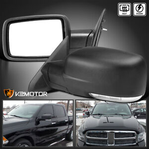 Fits 2009 2012 Dodge Ram 1500 Led Signal Power Heated Foldable Side Mirrors Pair